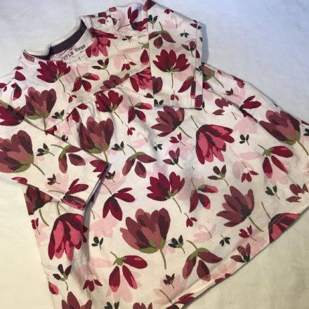 6-9 Month Red Flower Dress